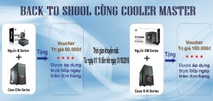 BACK TO SHOOL CÙNG COOLER MASTER