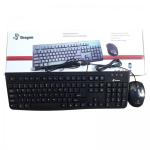 Combo Keyboard Mouse Dragon DK-01