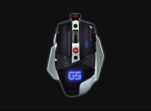 Mouse Dragonwar G5 (Black)