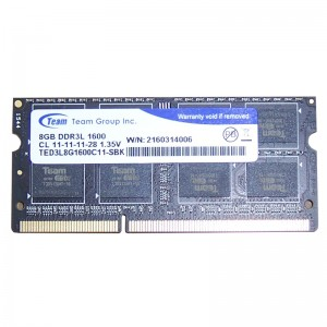 Ram laptop Team Elite 8GB - DDR3 - 1600MHz - PC3...